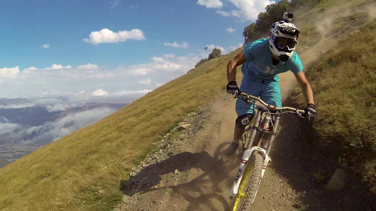 Saint Lary Bike park descentes VTT
