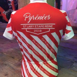 maillot route Saint Lary Pyrénées souvenir