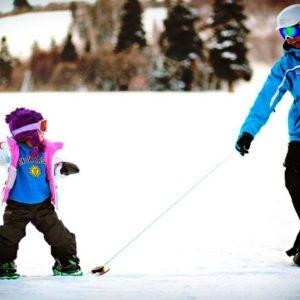 baby snowboard saint lary