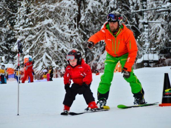 cours ski enfants