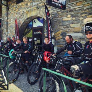 bike park Saint Lary VTT descente Evolution 2